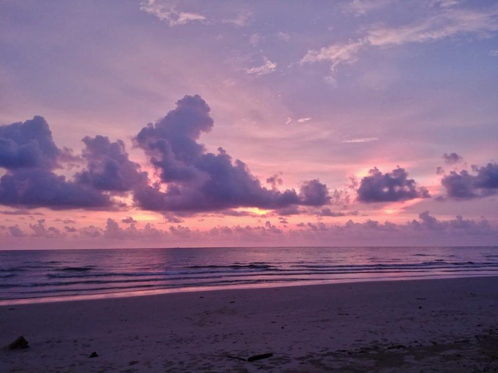Sonnenuntergang Klong Prao Pajamas Hostel Koh Chang