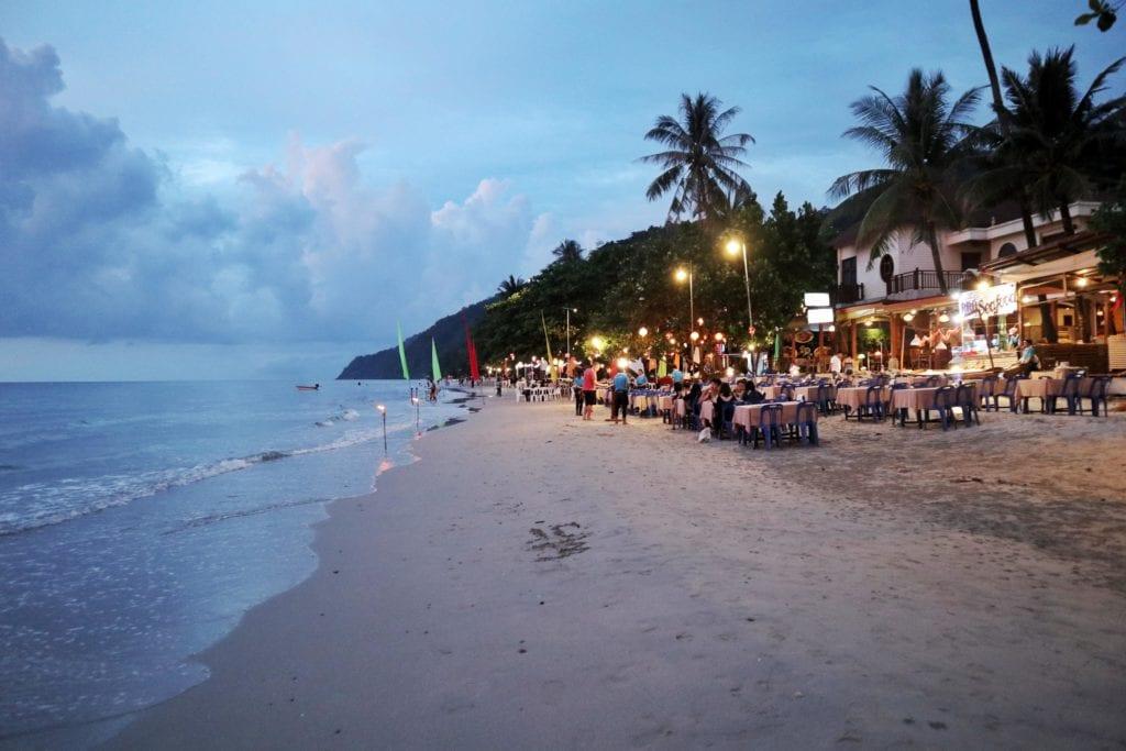 Strandrestaurants Whitesandy Beach Koh Chang