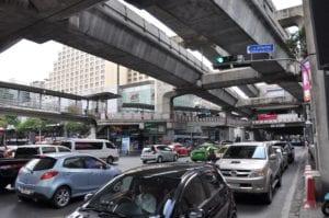 Taxifahren Bangkok