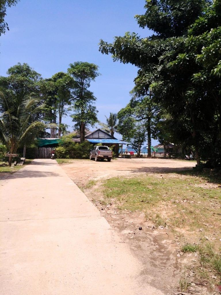 Weg zum Lonely Beach Koh Chang