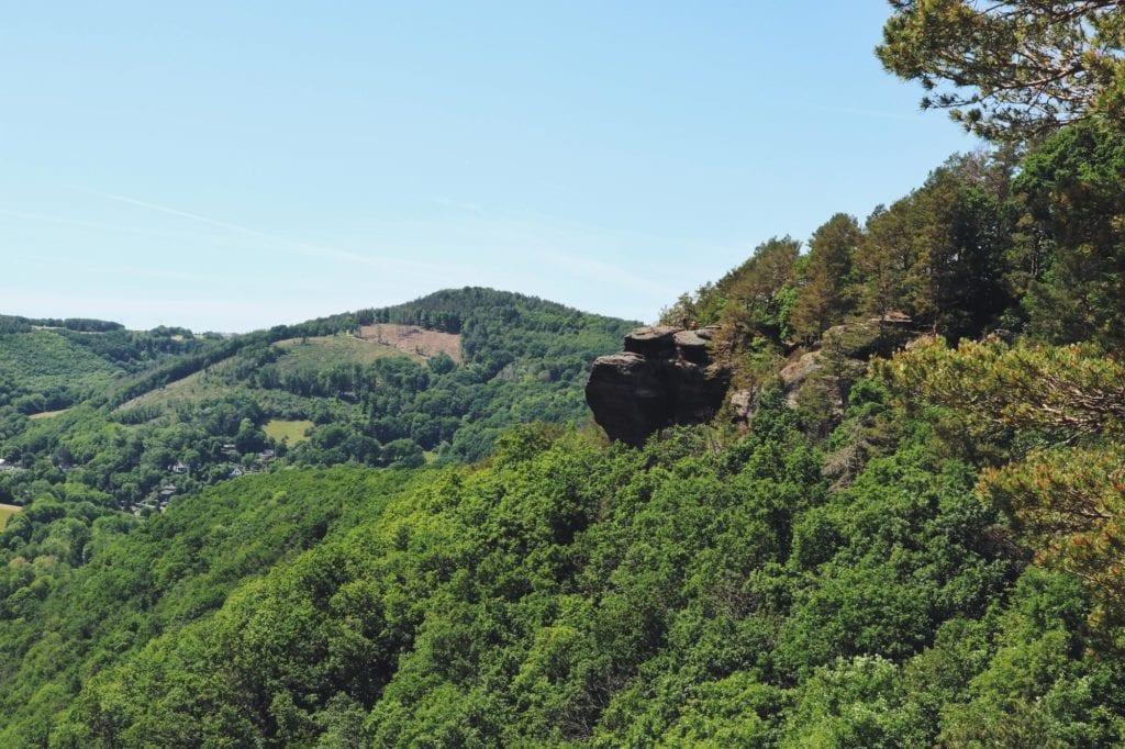 Blick auf Christinenley_Rureifel-Wanderung
