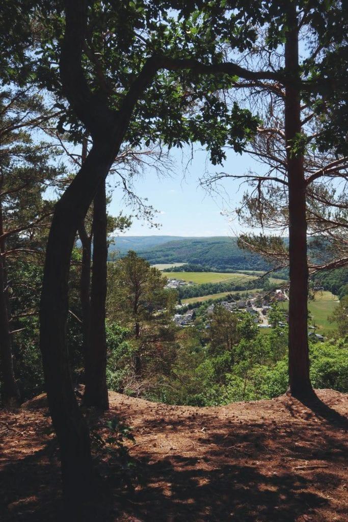 Blick vom Kuehlenbusch auf das Eifeltal