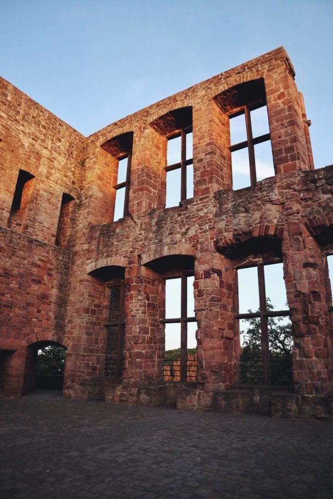 Burgruine Nideggen Fenster