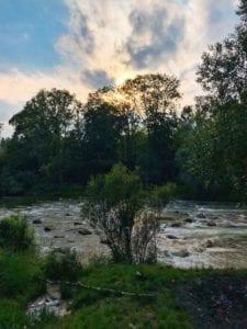 Flussschnelle bei St. Emmeram