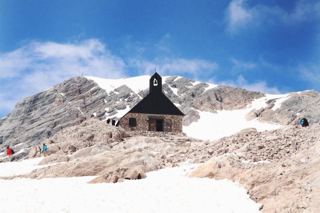 Kappelle auf Zugspitze
