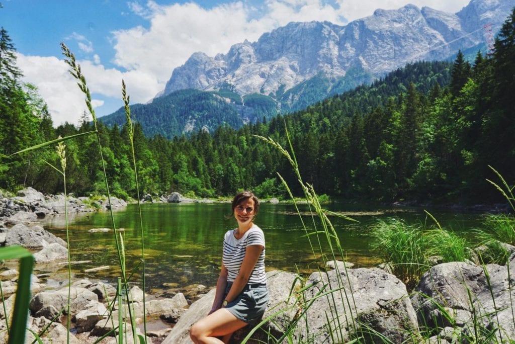 Travellerin Lisa Eibsee