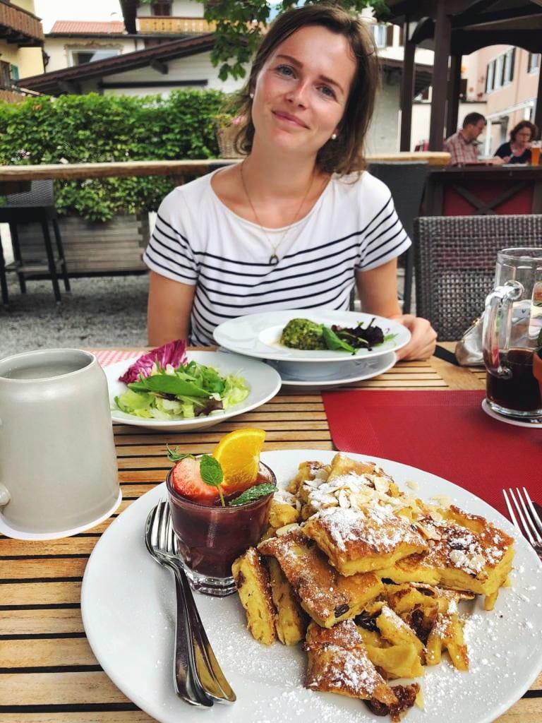 Travellerin Lisa und Kaiserschmarrn