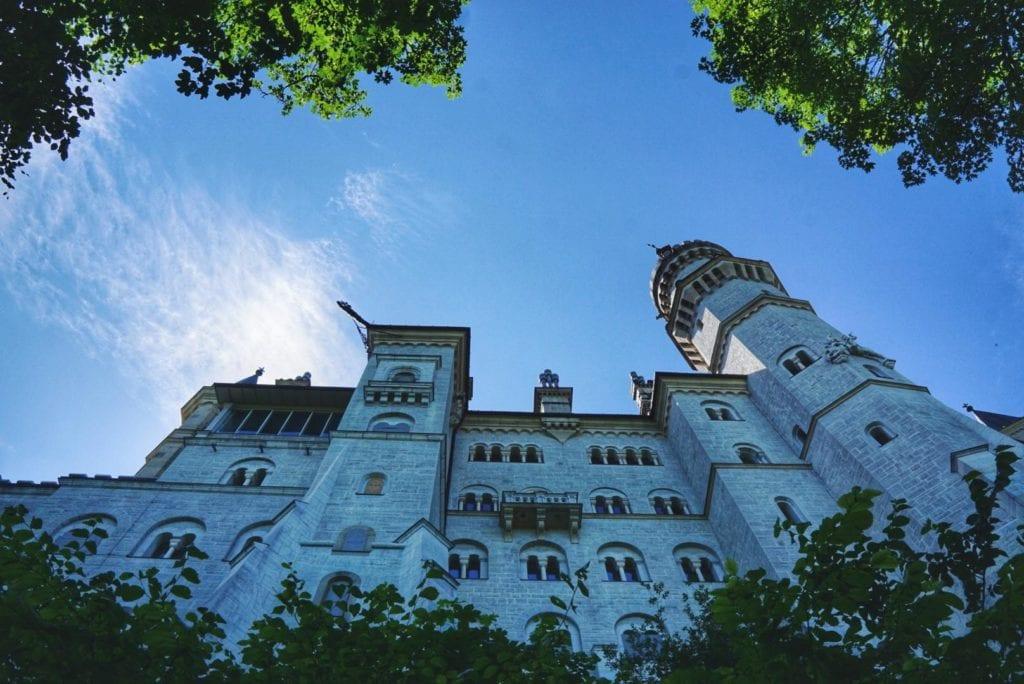 Außenfassade Schloss Neuschwanstein