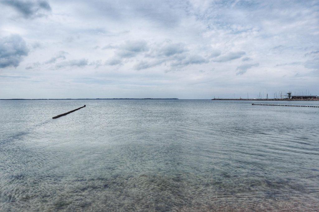 Baden Glowe Blick auf Kap Arkona