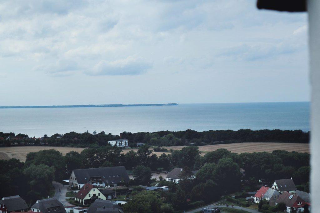 Blick auf Kap Arkona vom Hotel Schloss Ranzow