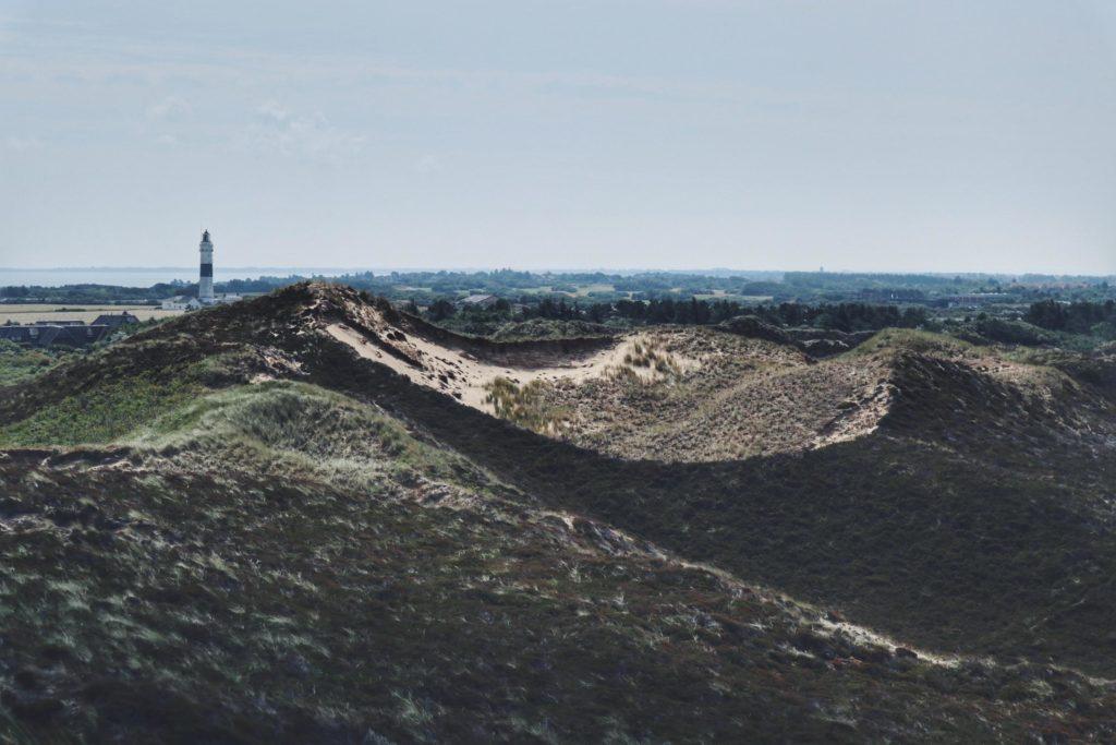 Blick von der Uwe Düne aus Leutturm Sylt