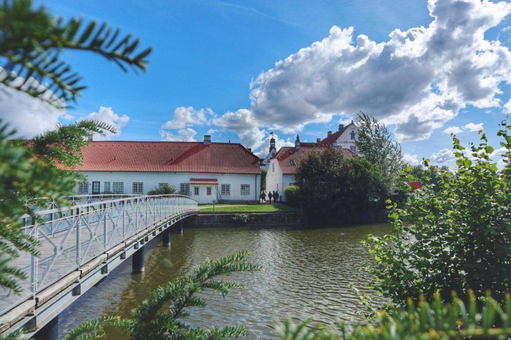 Brücke Schloss Glücksburg zum Park