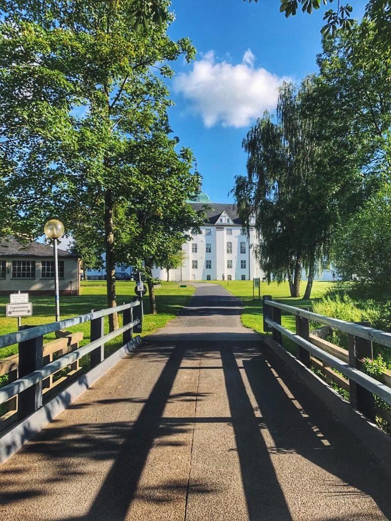 Brücke zum Schloss Gottorf in Schleswig