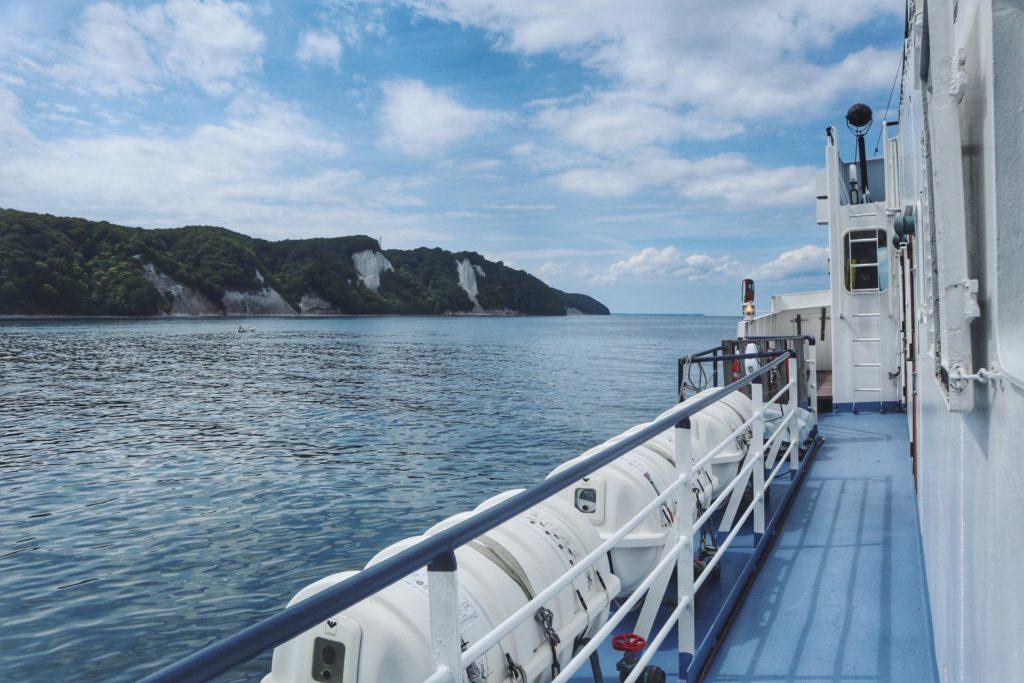 Cap Arkona Schifffahrt Sassnitz zum Kreidefelsen