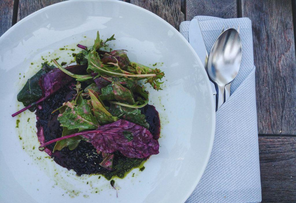 Essen im Restaurant und Hotel Seeleben in Schleswig