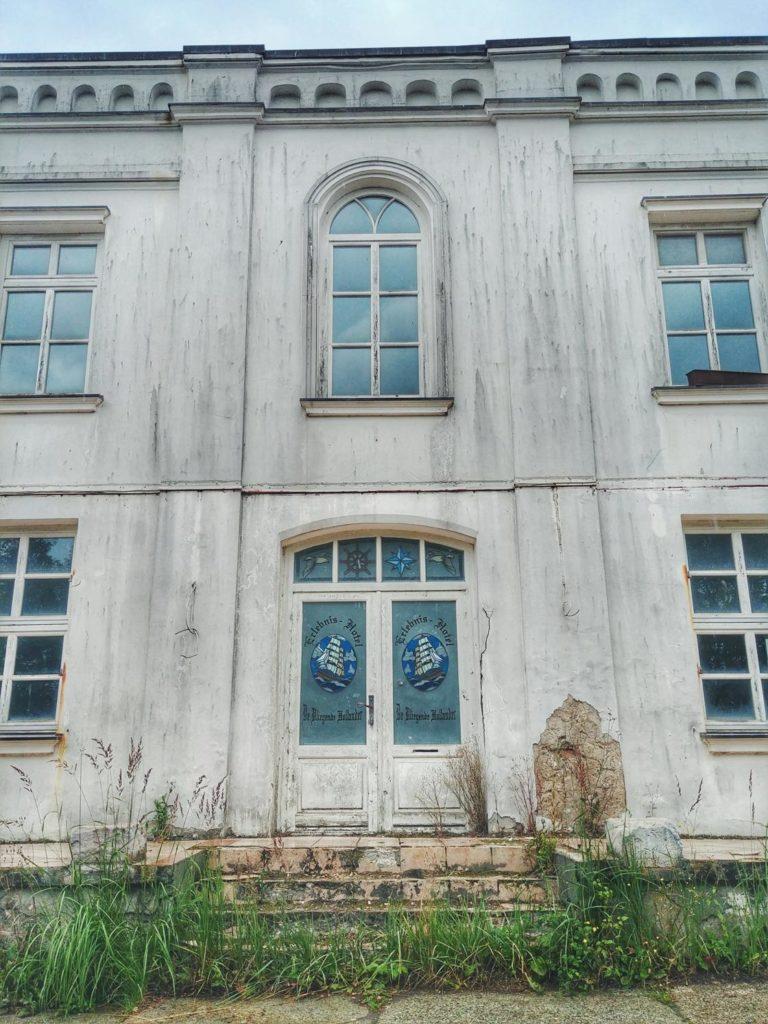 Hausfassade ehemaliges Hotel in Putbus