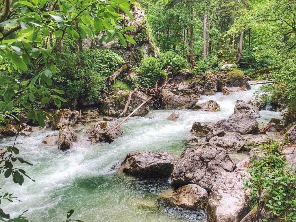 Ramsau Ache Fluss