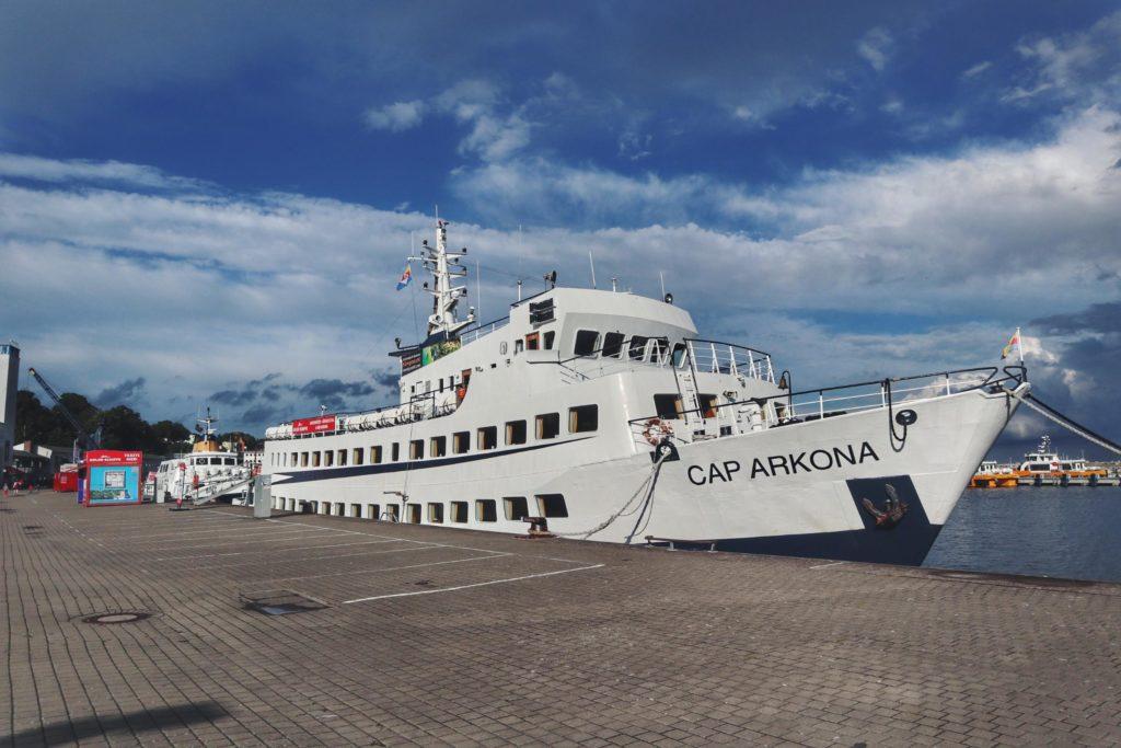 Sassnitz Schifffahrt Kreidefelsen