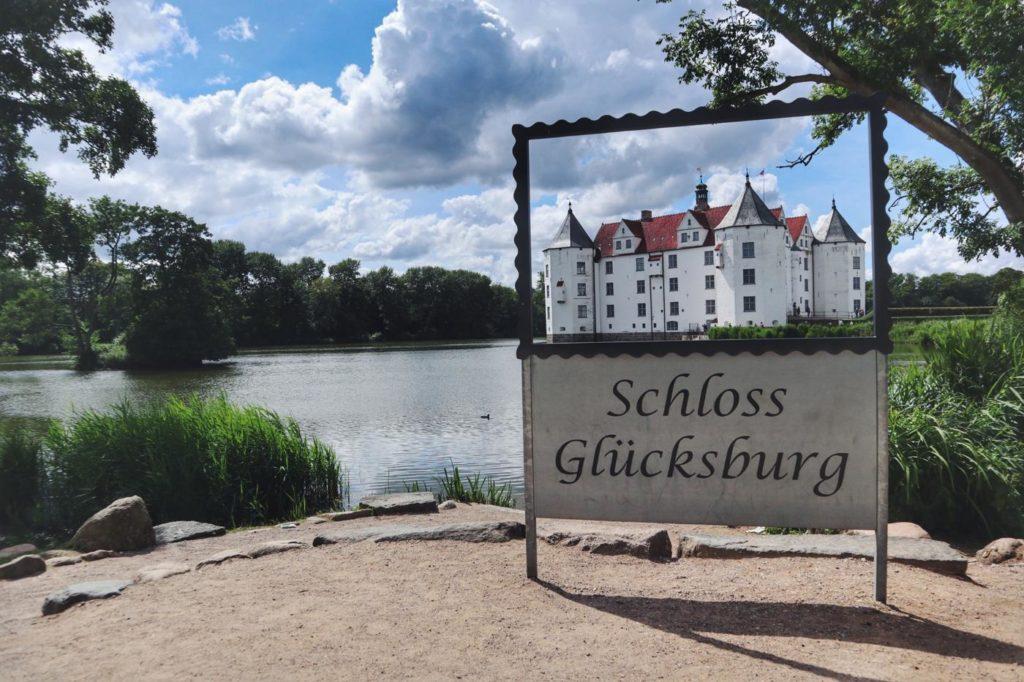 Schloss Glücksburg in Schleswifg Holstein