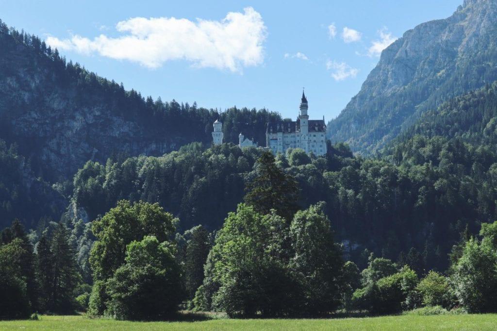 Schloss Neuschwanstein von Weitem