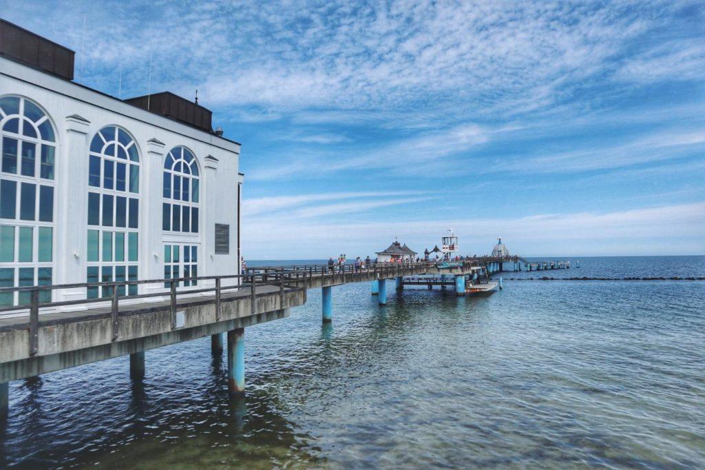 Seebrücke Sellin und Ostsee