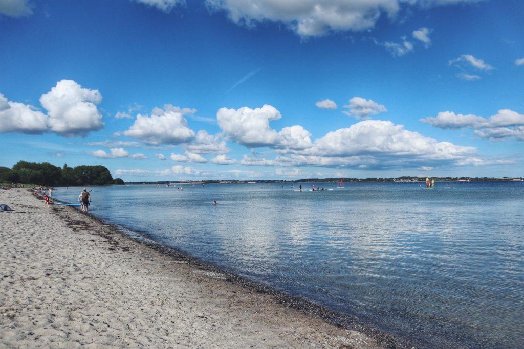 Strand Halbinsel Holnis