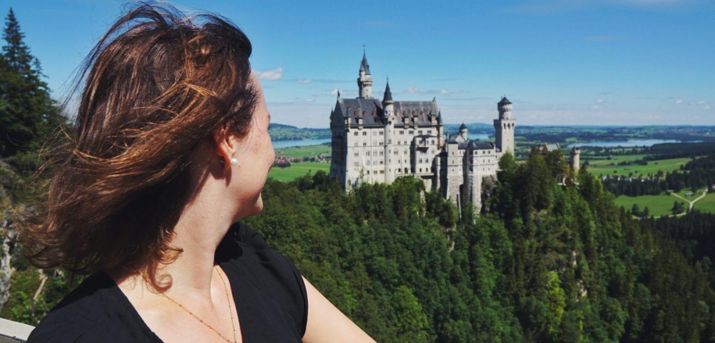 Travellerin Lisa Schloss Neuschwanstein