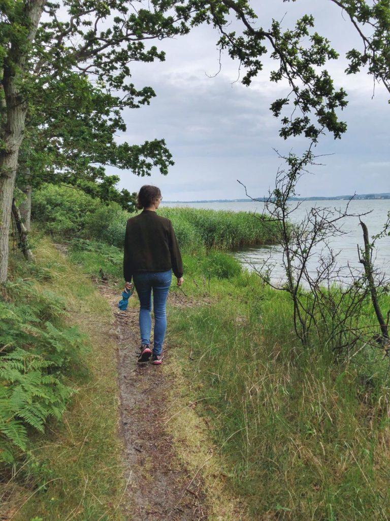 Travellerin Lisa auf Insel Vilm Führung