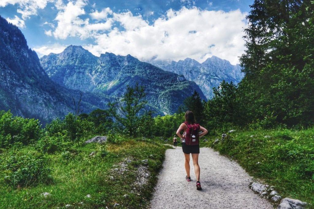 Wanderung um den Obersee bei Königssee