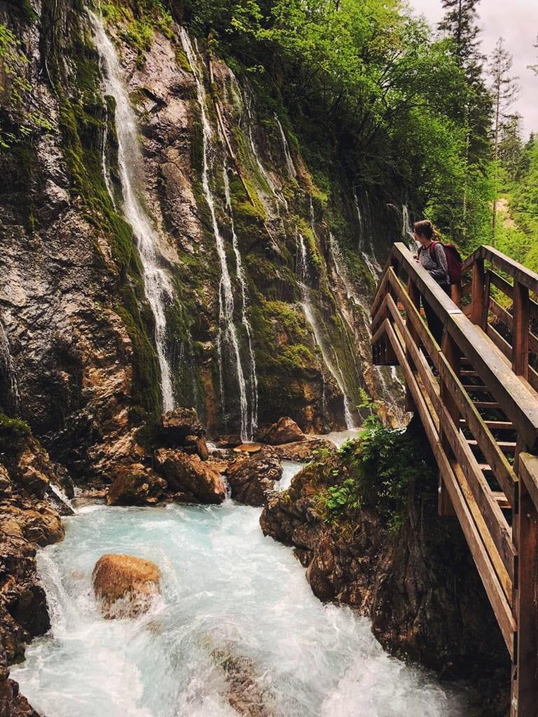 Wimbachklamm Wasserfall