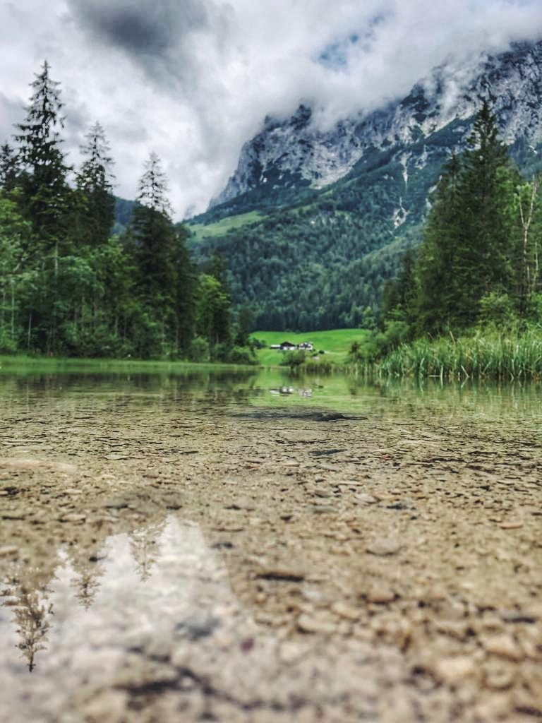 klares Wasser Hintersee
