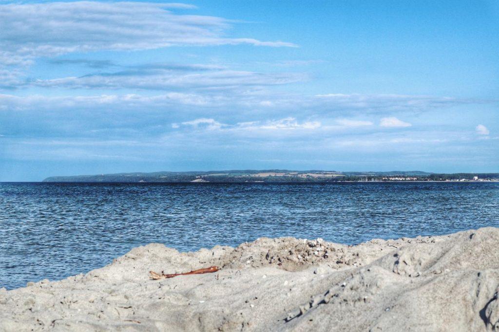 Ostsee an der Schaabe mit Blick auf Glowe_Rügen