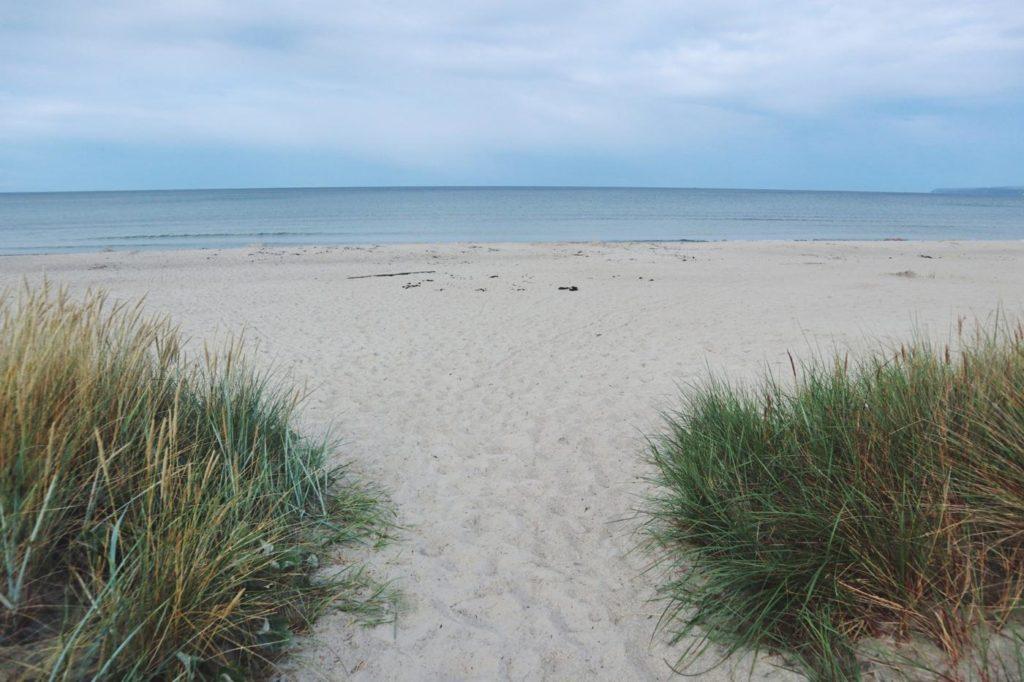 Ostsee an der Schaabe und Dünen_Rügen