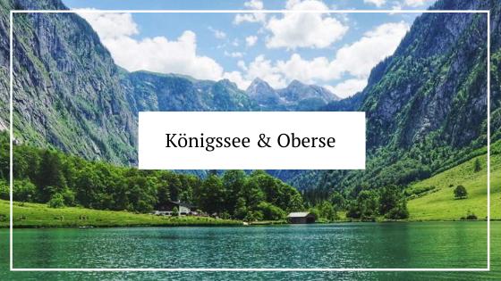 Urlaub in Deutschland_Bayern_Königssee und Obersee