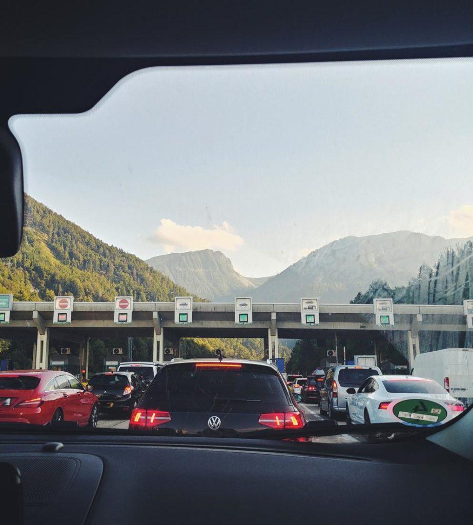 Einreise nach Slowenien mit dem Auto_Karawankentunnel