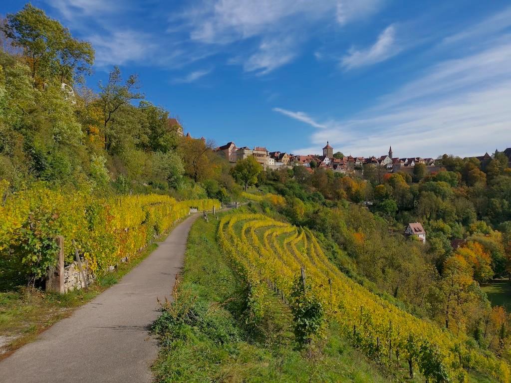 Herbstliche Ausflüge Süddeutschland_Rothenburg Panoramaweg_von Hubert von Travellerblog