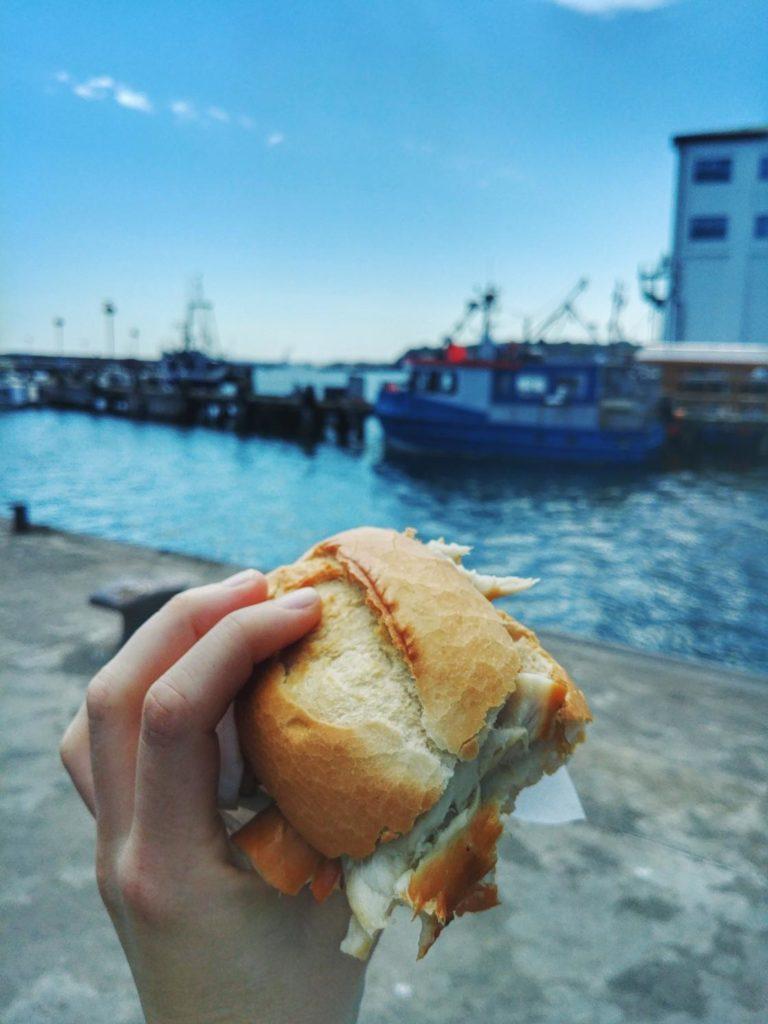 Beste Fischbrötchen auf Rügen