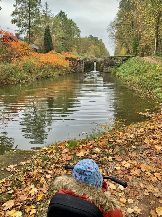 Wandern am Alten Kanal