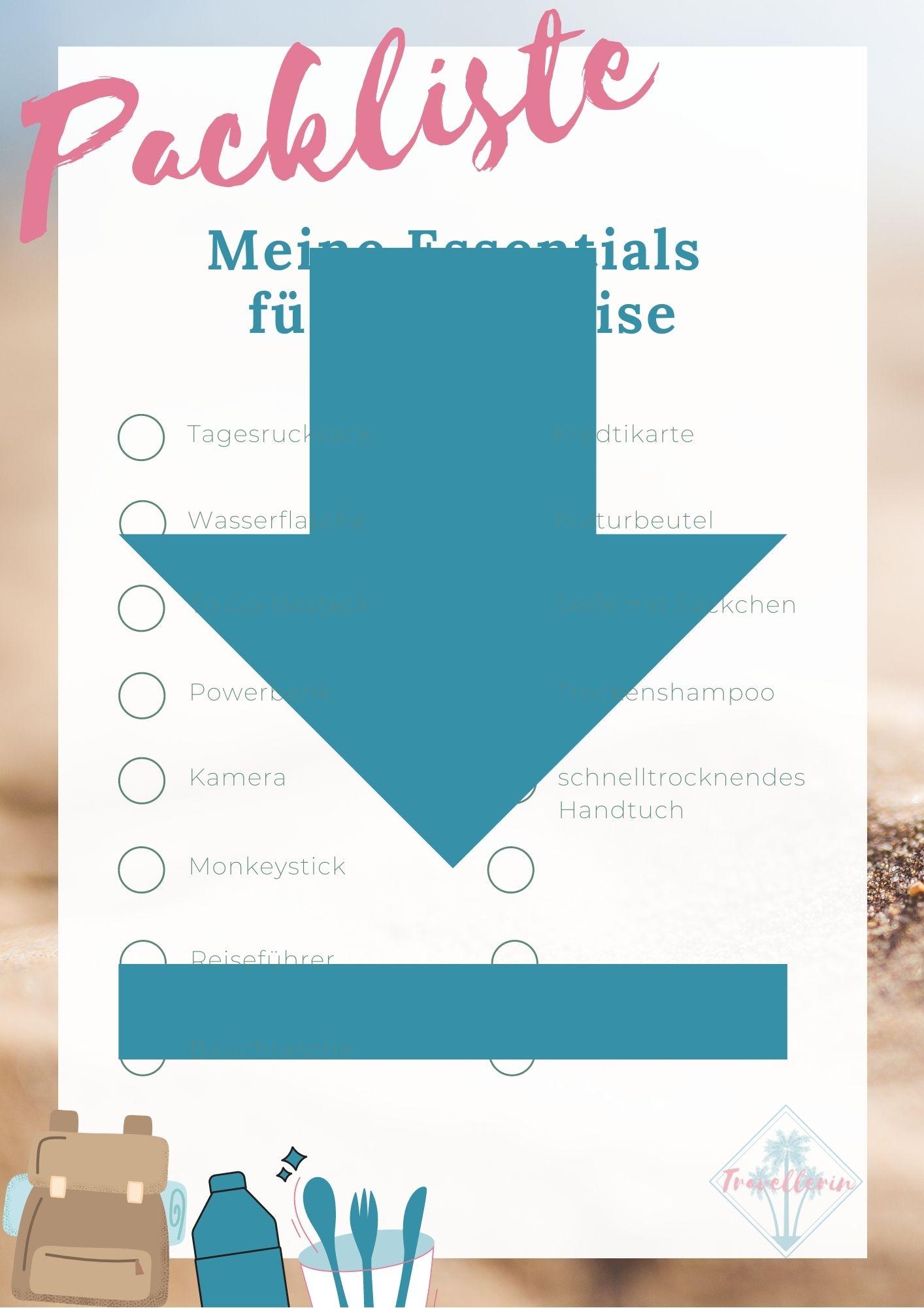 Kostenfreier Download_Reise-Packliste Essentials