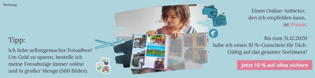 Tipp online Bilder drucken bei Pixum