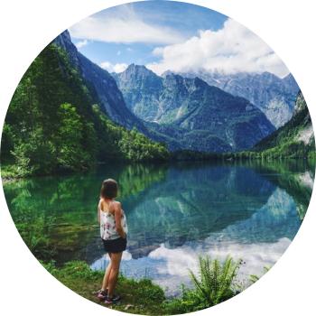 Travellerin Lisa Obersee Bayern