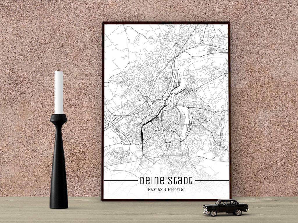Weihnachtshochzeitsgeschenk für Reisfans_Deine Stadt Just a Map Stadtplan_@KlausUndSo_etsy.com_il_1588xN.2103009535_b6i1
