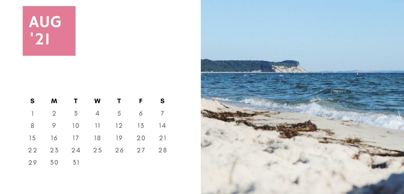 Brückentage 2021 Kalender_August