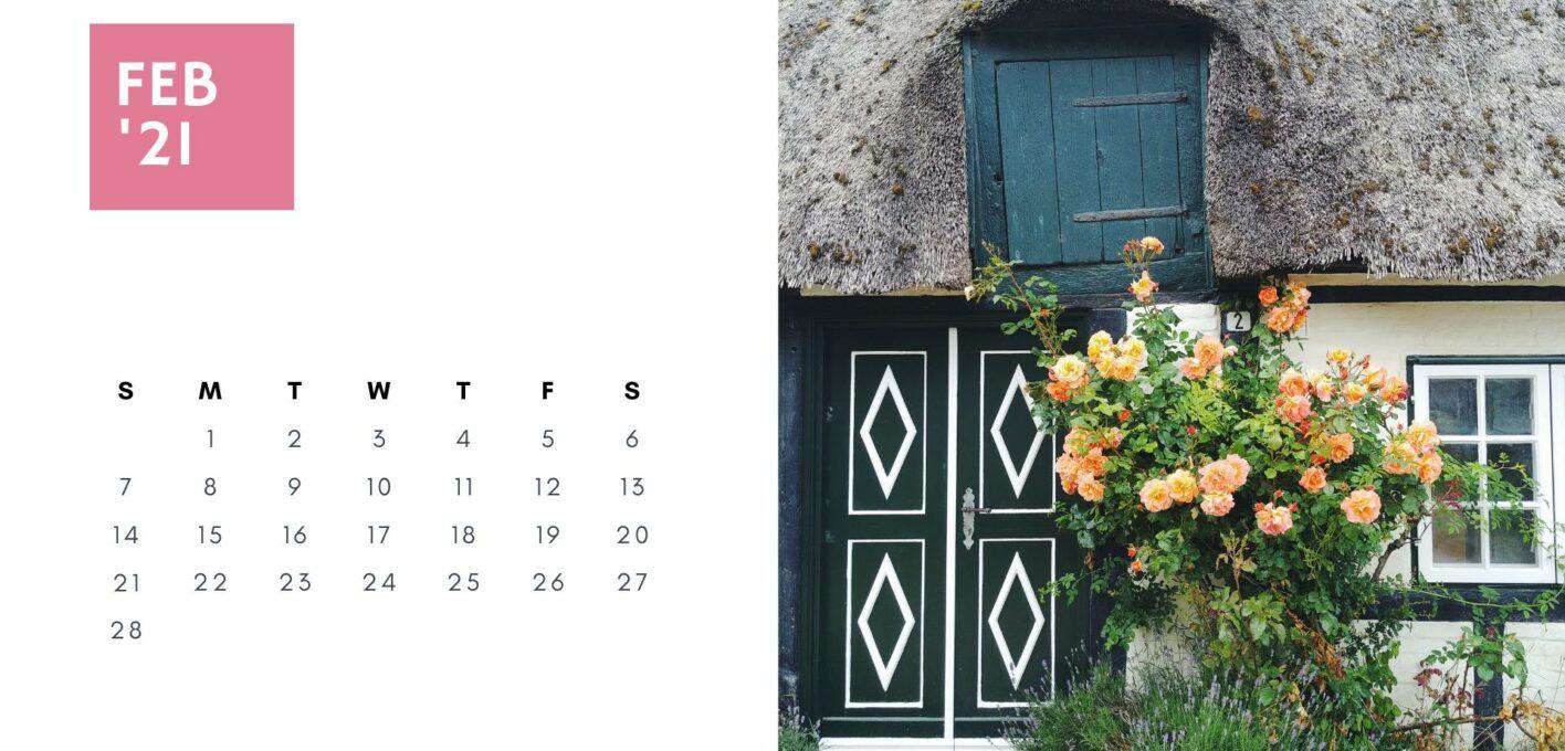 Brückentage 2021 Kalender_Februar