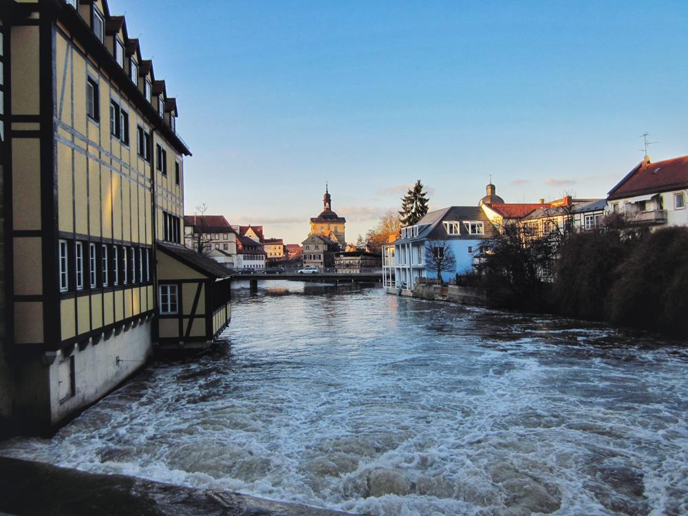 Bamberg Reisetipps_Blick auf das Alte Rathaus