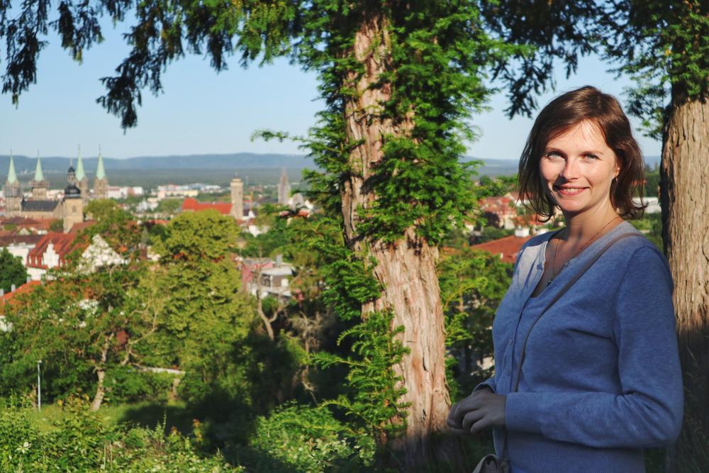 Kurzurlaub Bamberg_Blick auf Bamberg von Villa Remeis