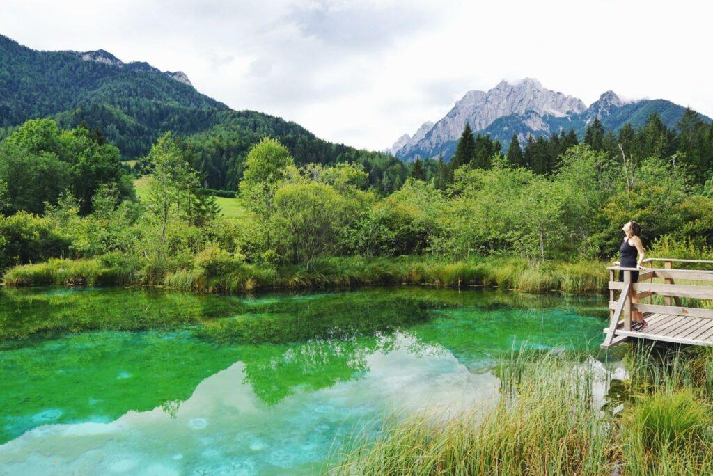 Slowenien Berge_Naturreservart Zelenci