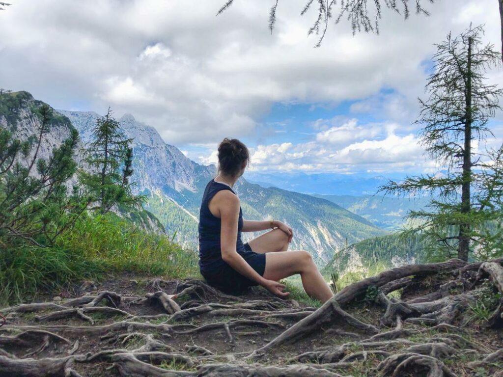 Vršič Pass Wanderung_Aussichten in das Tal