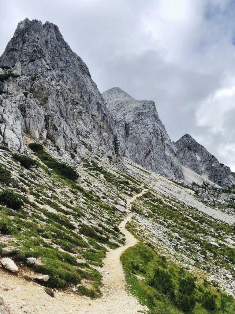 Vršič Pass Wanderung_Vratica Sattel