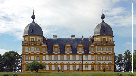 Bamberg Fahrradtour Schloss Seehof